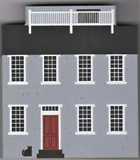 "Cat's Meow Village Retired Nantucket Series ""Mitchell House"" New/Value $15"