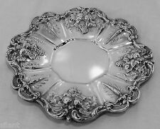 """FRANCIS I BY  REED & BARTON 11 1/2"""" Sterling Sandwich Serving Plate, No Mono"""