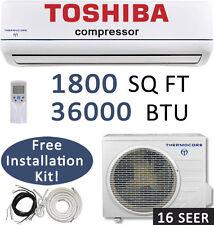 36000 BTU Ductless Mini Split Air Conditioner Heat Pump with Lineset / 3 TON