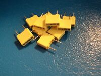 THOMPSON BOX POLYESTER CAPACITOR   220nf / 63v  QTY =10 off