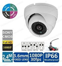 Sony CCD II 700TVL 24 infrared day/night indoor Dome CCTV Camera to Surveillance