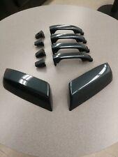 2014-2018 GM OEM Chevy Silverado Sierra Graphite GPA Door Handles & Mirror caps