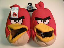 NWT Angry Birds Men's slippers child's size Large 8/9
