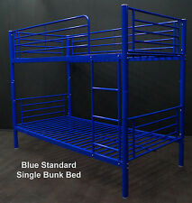 3 x BUNK BEDS SINGLE - BLUE