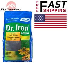 Dr. Iron Organic Lawn Pellets 21 lb.Fertilizer Plant Fruits Flower Grass Garden