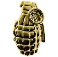 Miniature Replica Military Pineapple Grenade (gold) Hat or Lapel Pin H14788h D69