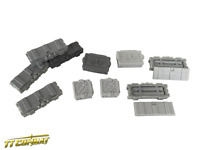 TTCombat - Si-Fi Gothic - SFGRA001 - Ammo Crates, great for 40K