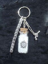 Supernatural TV themed key ring / bag charm