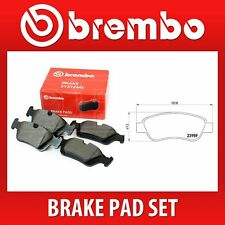 Brembo Front Brake Pad Set (2 Wheels on 1 Axle) P 61 081 / P61081