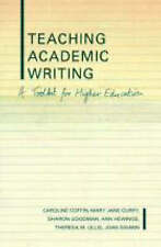 Teaching Academic Writing: A Toolkit for Higher Education (Literacies)-ExLibrary