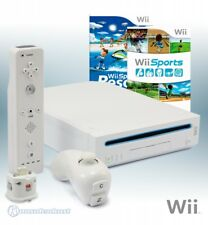 Wii console white + Wii Sports + Sports Resort + mote + Motion Plus Adapter