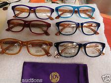 K48  JOY MANGANO Couture  3.50 Readers 6 PAIR READING GLASSES MIXED COLORS