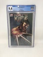 Hunt for Wolverine #1 CGC 9.4 Deodato Variant Cover
