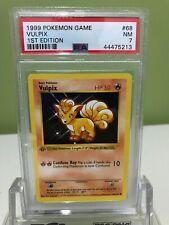 QTY 1999 Pokemon Base Set Porygon Shadowless 1st Edition #39//102 PSA 9 POP 376
