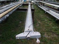 """30 feet 1 inch Heavy  Duty Aluminum Sailboat Mast (6.0"""" x 3.7"""" size) w/Spreaders"""