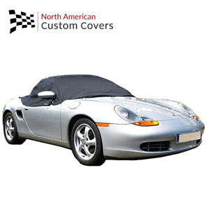 Porsche Boxster 986 Convertible Soft Top Roof Half Cover - 1996 to 2004 RP145