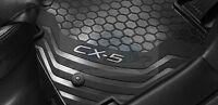 MAZDA CX5 Floor Mats Rubber Brand New Genuine 2012 2013 2014 2015 2016 2017