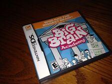 Nintendo DS Big Brain Academy- all booklets & case (DS Lite, DSI)