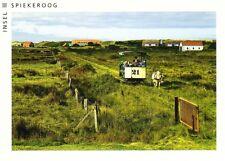 Ansichtskarte: Museumsbahn - Pferdebahn auf der Insel Spiekeroog
