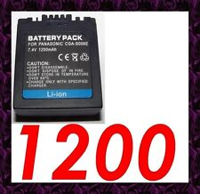 ★ 1200 mAh ★ Batterie Rechargeable CGA/CGR-S006 PANASONIC LUMIX DMC-FZ30EG-S