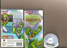Frogger tête casquée Chaos Playstation PSP RARE Retro Update