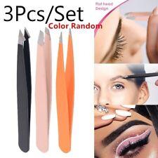 Beauty Professional Slant Tip Hair Removal Random Eyebrow Tweezer Cosmetic Tool