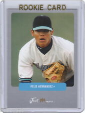 LP~RC~FELIX HERNANDEZ Just Prospects 04 Preview Silver ROOKIE CARD~'03~CY YOUNG
