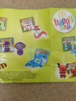 McDonalds Happy Meal Toy 2013 Yoohoo & Friends Plush Bag Hanger Toys - Various
