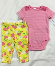 Just One You Carters-Girls Dress w//panties /&1 Pc Romper Set-Sz NB Or 6 Mnths-New