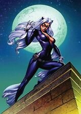 CAT WOMAN a3 STAMPA POSTER yf919
