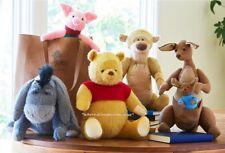 Disney Christopher Robin Pooh-Tigger-Eeyore-Piglet-Kanga and Roo Plush Set of 5!