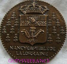 MED6330 - MEDAILLE NANCY CAPITALE DE LA LORRAINE 1955 par MULLER