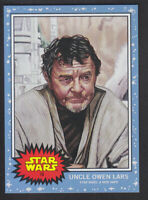 Topps Living - Star Wars 2019 # 10 Uncle Owen Lars - A New Hope /1721