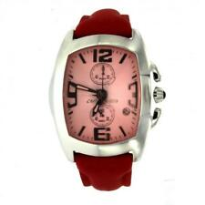 Watch CHRONOTECH Prisma REVOLUTION CT.7587M/04 Chrono Leather Red Pink