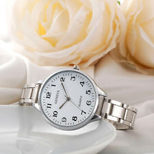 Elegant Women Quartz Watch Stainless Steel Analog Quartz Wrist Watch NEW