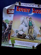 Lot de 2 affiches de cinéma - Astérix contre césar / Lucky Luke - Superbes / EO