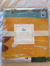 Pottery Barn Kids Island Surf PVC Shower Curtain - NEW