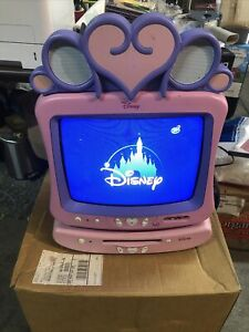 Disney Princess TV Model DT-1350P Plus DVD Combo Player  Pink