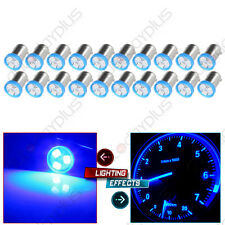 20X Blue BA9S 3SMD LED Dome GLOVE BOX LIGHT BULBS Interior Lamp Replacement