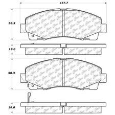 StopTech Street Brake Pads fits 2006-2009 Honda Ridgeline  STOPTECH
