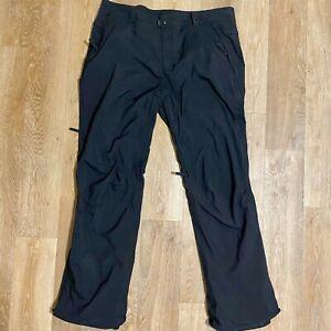 686 Infidry Mens Size XXL Black Ski Snowboard Pants Thermal Waterproof