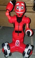 "WowWee Mini Tribot red three wheeled fun Robot 2007 9"" No Remote"