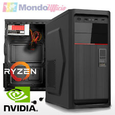 PC Computer AMD RYZEN 5 2600 6 CORE 3,90 Ghz - Ram 8 GB DDR4 - ASRock - USB 3.1