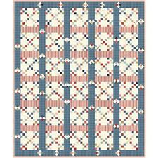 """Seaside Quilt Kit 63"""" x 75"""" with Moda Northport Fabric by Minick & Simpson"""