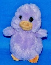 "Ty LAVENDER Purple Easter Chick (4"") Soft Basket Beanie 2012 Boys Girls 3+ NT"