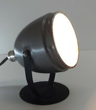 Vintage Mid Century Modern Industrial Machine Age Spot Stage Photo Lamp
