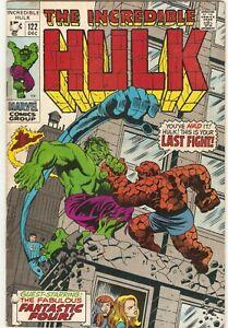 The Incredible HULK # 122