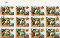 Lao Anniv. Innoculation Scene  Stamps Decoupage Crafts or Collect Ref 28328