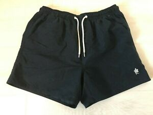 FRENCH CONNECTION NAVY SWIMMING SHORTS SIZE M
