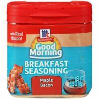 MCCORMICK GOOD MORNING BREAKFAST SEASONING ~ MAPLE BACON 2.22oz